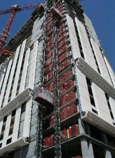 High-Rise Concrete Commercial Building, Post-Tensioned Concrete Slab Floors